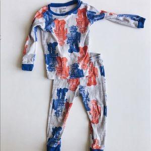 Baby Gap | Robot Long Sleeved Pajama Set